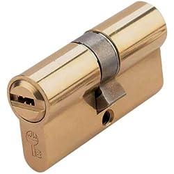 Ezcurra M38874 - Cilindro de seguridad laton ds15/70 centrado