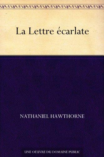 Couverture du livre La Lettre écarlate