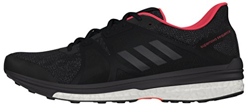 adidas Women's Supernova Sequence 9 W running Shoes, Black (Negbas / Nocmét...