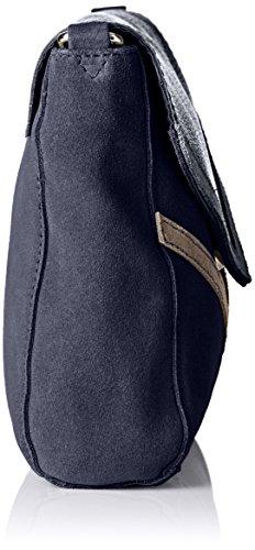 Petite Mendigote Mutin, Sac porté épaule Bleu (Eclipse)
