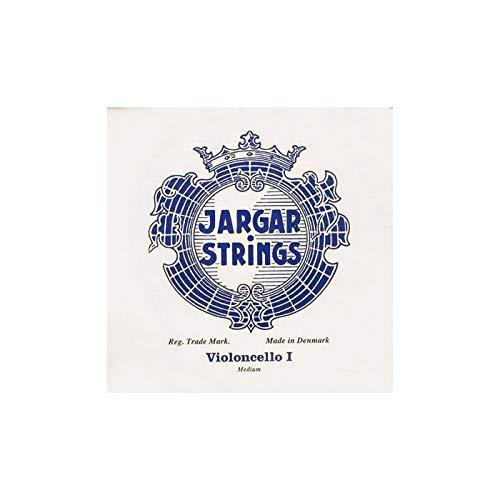 Corde per violoncello 4/4, modello: A, 'Jargar Strings' (etichetta in lingua italiana non garantita)