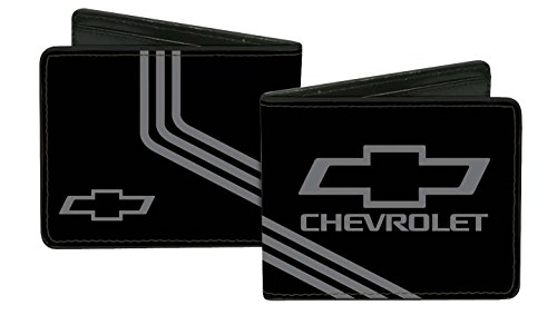 chevrolet-automobile-company-black-and-grey-logo-stripes-bi-fold-wallet
