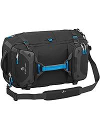Eagle Creek Vergrößerbare Reisetasche Rucksack Load Hauler Expandable mit Reißverschluss für mehr Volumen, 57 L, black