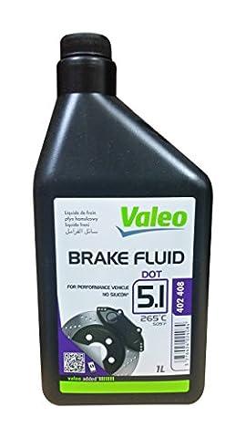 Liquide de freins 1 litre DOT5.1 Valéo 402408