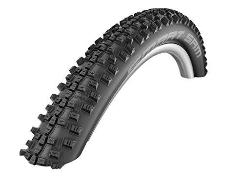 Schwalbe Smart Sam Addix Performance Line, Rigide Pneu de vélo Mixte Adulte, Noir, 26x2.25/57-559
