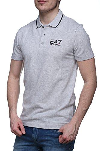 Polo EA7 Emporio Armani 7 uomo 3ypf52 vari colori pique maglia Grigio