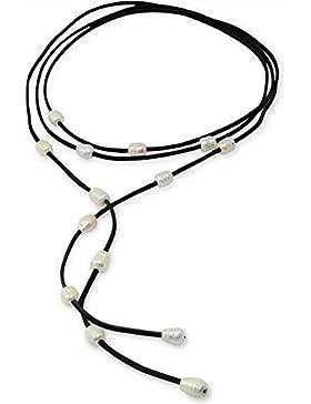 Choker Collar de perlas de agua
