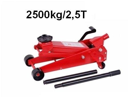 Sollevatore Martinetto Cric Idraulico Professionale A Carrello 2 5t