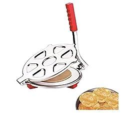 Shivans Affix Stainless Steel Puri Press/Puri Machine/Chapati Press/Roti Maker/Papad Maker Machine