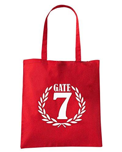 T-Shirtshock - Borsa Shopping OLDENG00770 olympiakos gate 7 Rosso