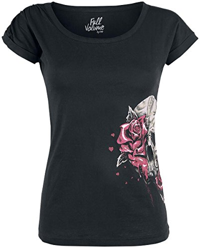 Full Volume by EMP Roses Maglia donna nero M