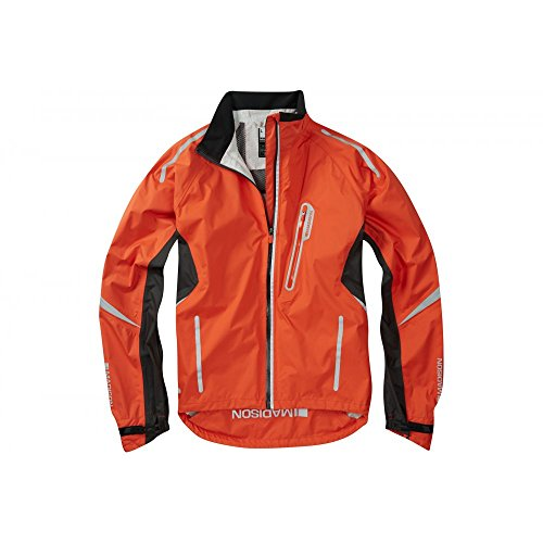 2016 Madison Mens Stellar Waterproof Jacket Chilli Red Medium