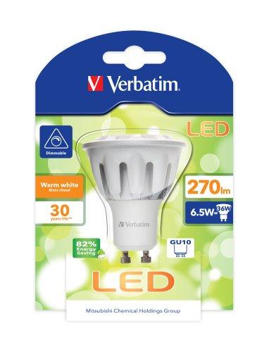 verbatim-52156-led-par16-gu10-65-watt-light-bulb