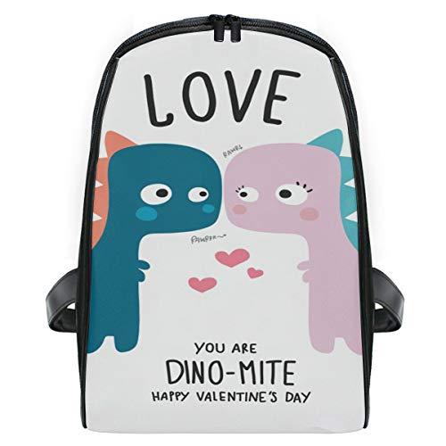 ISAOA Dinosaurier-Rucksack für Paare, für Kinder, niedlicher Kinder-Rucksack, leicht, langlebig, Tagesrucksack, Reisetasche, Kleinkinder, Schulranzen für Kindergarten, Vorschulalter 2-7 Jahre