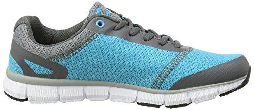 KangaROOS K-BlueRun 8017 Unisex-Erwachsene Sneakers Grün (dk smaragd/ dk grey 824)