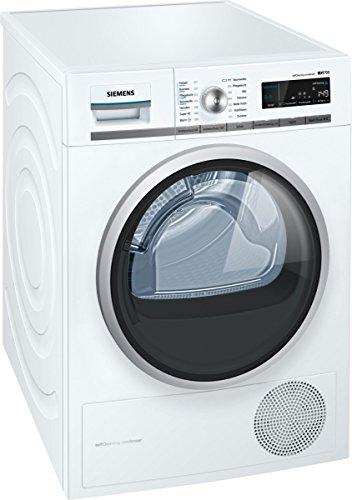 Siemens WT45W510 iQ700 Wärmepumpentrockner / A++ / 8 kg / Weiß / Restlaufanzeige