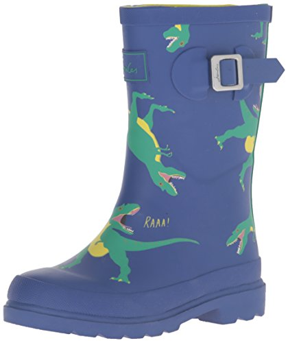 Tom Joule Jungen Jnr Printed Welly Stiefel Multicolor (Dzbdino)