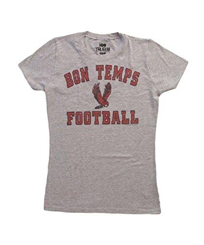 True Blood - T-shirt -  Femme Gris - Heather Gray