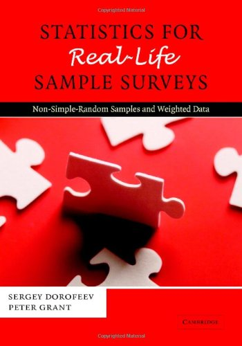 Download e book for kindle statistical methods for the evaluation get statistics for real life sample surveys non simple random pdf publicscrutiny Gallery