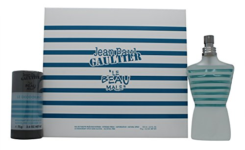 Jean Paul Gaultier Le Beau Male Confezione Regalo 125ml EDT + 75ml Deodorante Stick