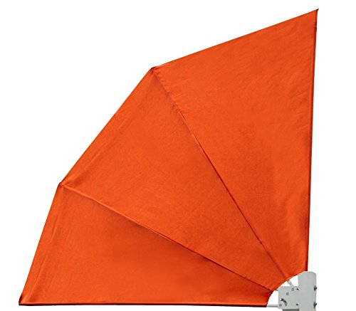 Leco-Werke 25103105 - Silla de playa de mimbre, color naranja
