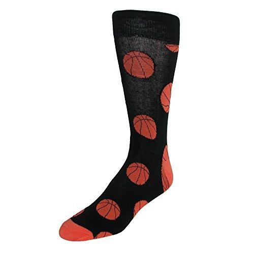 Parkquet Herren-Socken mit Basketballmuster Gr. Einheitsgröße, multi (Kirche Krawatten Für Jungen)