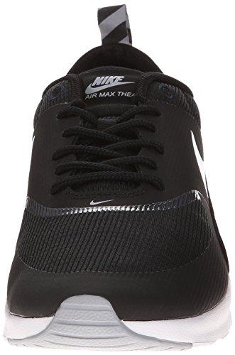 Nike - Air Max Thea, Scarpe Da Corsa da Donna Nero (007 Negro/WOLF GREY-ANTHRCT-WHITE)