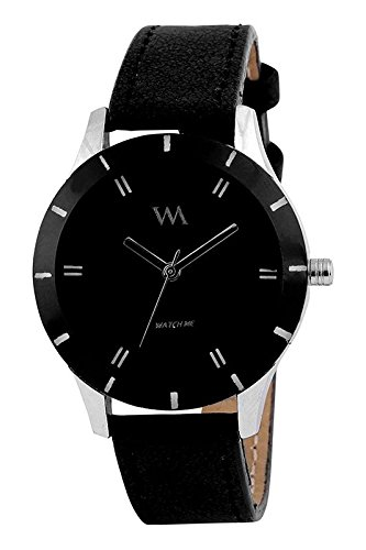 Watch Me Analogue Black Dial Women's & Girl's Watch - Wmal-002Omt