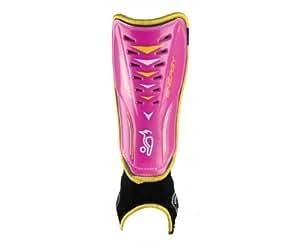 Kookaburra 2013 Energy Hockey Shinguards - Pink/Yellow, Small