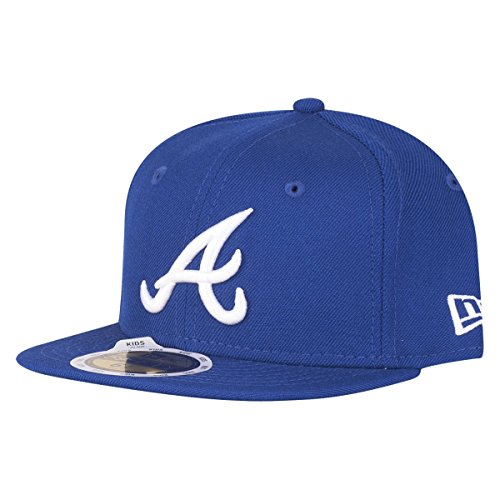 New Era 59Fifty KIDS Cap - MLB Atlanta Braves royal