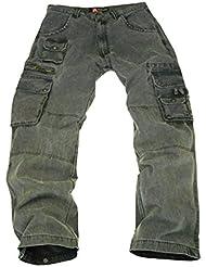 Kakadu Traders Derby robuste Outdoor Pantalon cargo avec de nombreuses poches