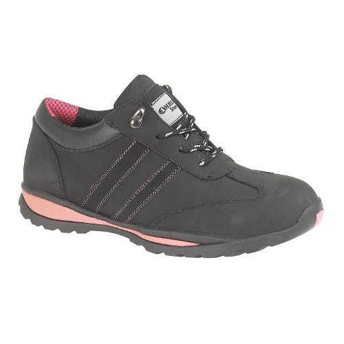Footsure Ladies Black Shoe S1P 05