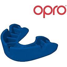 OPRO Mundschutz Bronze - Zahnschutz für Handball, Karate, Rugby, Hockey, MMA, Boxen, Lacrosse, American Football, Basketball - selbst anformbar - im UK entworfen & hergestellt