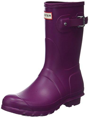 Hunter Original Short Wellington Boots, Stivali di Gomma Unisex Adulto Viola (Violet)