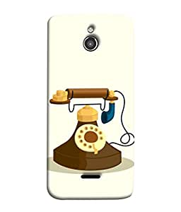 InFocus M2 Back Cover Vintage Telephone Design From FUSON