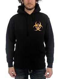 Biohazard - - Gang / Hommes Rockers à capuche In Black