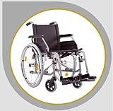 Wickelkommode - Bischoff Rollstuhl S Eco 2 Faltrollstuhl Reiserollstuhl Transportrollstuhl - Sitzbreite 46 cm