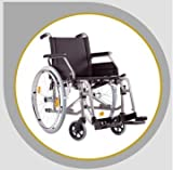 Rollator - Bischoff Rollstuhl S Eco 2 Faltrollstuhl Reiserollstuhl Transportrollstuhl - Sitzbreite 46 cm