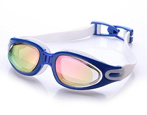 Schwimmen Schutzbrillen, Embryform Clear Schwimmen Schutzbrillen Keine Leaking Anti Fog UV Schutz Triathlon Schwimmbrille mit freiem Schutz Fall für Erwachsene Männer Frauen Jugend Kinder Kind, YG11K5