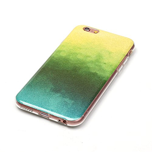 Wkae Case Cover cas iphone 6s, coloré modèle TPU étui souple cas de couverture de peau de silicone de caoutchouc pour 6s iphone by DIEBELLEU ( Color : O , Size : Iphone 6s ) F