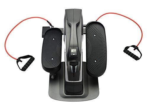 AsVIVA H20 Mini Bike Heimtrainer Cardio mit 3kg Schwungmasse, 8 manuell verstellbaren Widerstandsstufen sowie kugelgelagerten Hartgummi Rollen, inkl. Multifunktionscomputer - 6