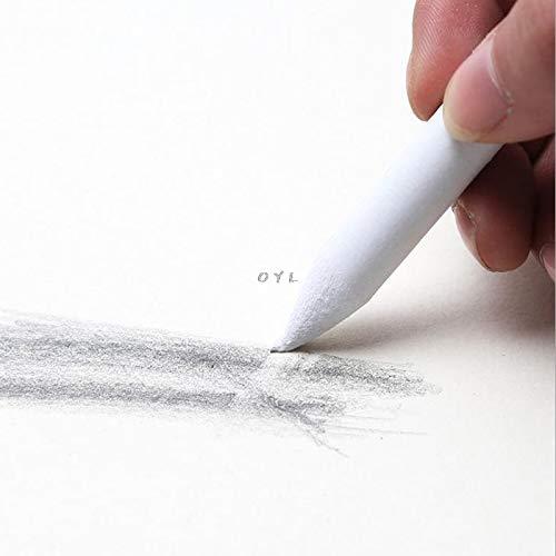 3 Stück Blending Smudge Tortillon Stump Sketch 6 Größen Kunst Zeichnen Werkzeug Pastel NEU - Reispapier Schatten