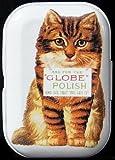 Motif chat globe polish mintdose boîte de 4 piluliers minzbox kleingelddose