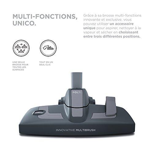 POLTI PBEU0080 Multizyklon Nass und Trockenstaubsauger mit Integriertem Dampfreiniger - 5
