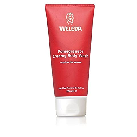 Weleda Pomegranate Creamy Body Wash 200ml (PACK OF