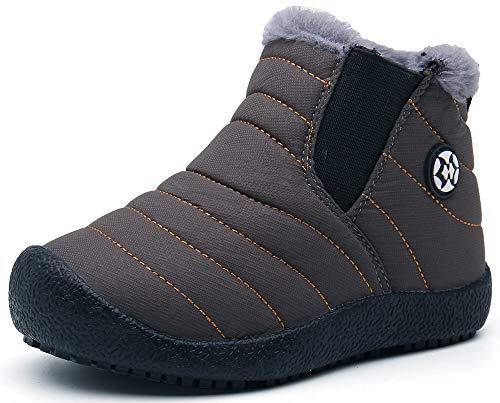 Gaatpot Zapatos Invierno Niña Niño Botas de Nieve Forradas Zapatillas Sneaker Botines...