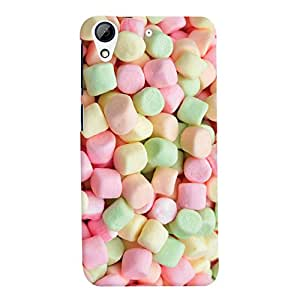 ColourCrust HTC Desire 728 / 728G / Dual Sim Mobile Phone Back Cover With Sugar Candy Pattern Style - Durable Matte Finish Hard Plastic Slim Case