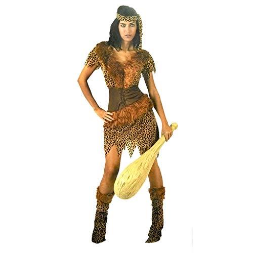 Kostüme Halloween Savage Performance-Kostüm Masquerade Leistung Kleidung Männer und Frauen Kleidung Horrorkostüm (Color : B, Größe : (Masquerade Kostüm Plus Größe)