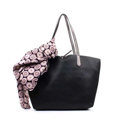 L'atelier Du Sac PARIS Shopping Donna Nero/Grigio