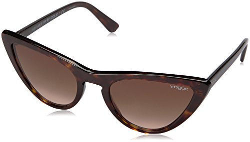 Vogue Eyewear Damen 0vo5211s Sonnenbrille, Braun (Dark Havana/Browngradient), 54